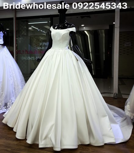 Classic Style Bridal Dress