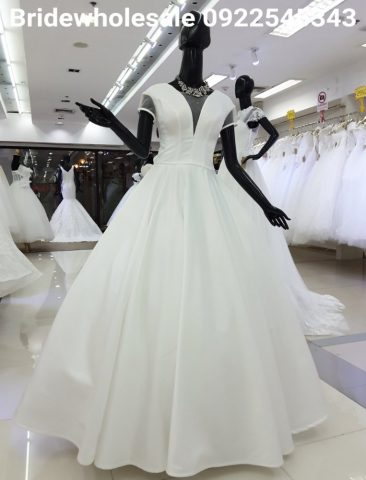 Minimal Bridal Dress