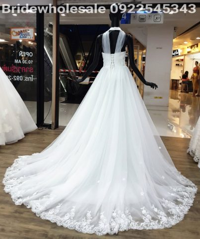 Flower Style Bridal Dress