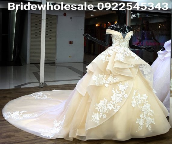 Unique Style of Bridal Dress
